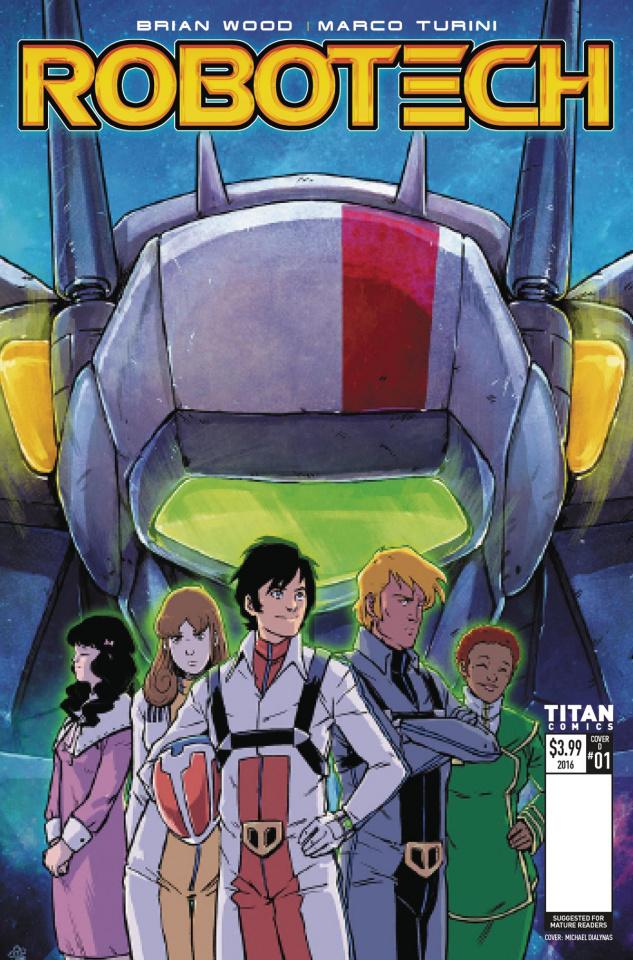 Robotech #1 (Dialynas Cover)