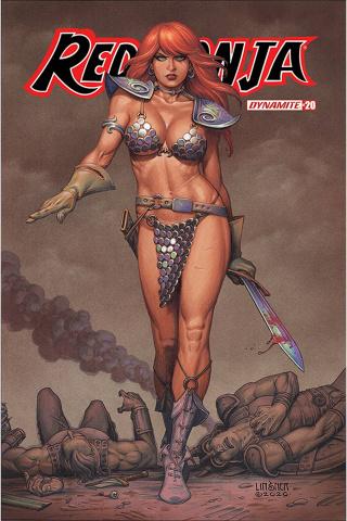 Red Sonja #20 (Linsner Cover)