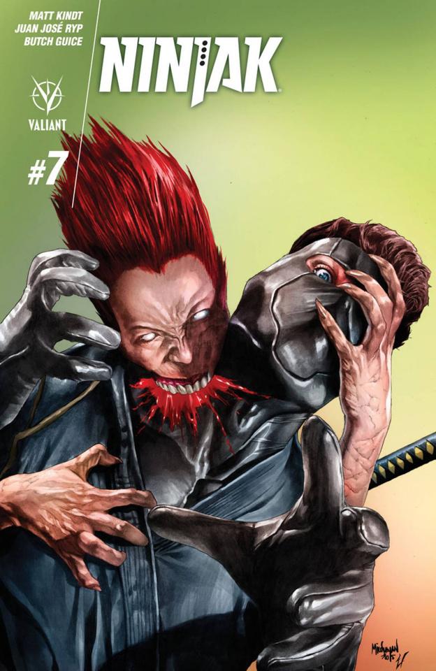 Ninjak #7 (Suayan Cover)