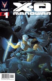 X-O Manowar #1 (Ribic Cover)