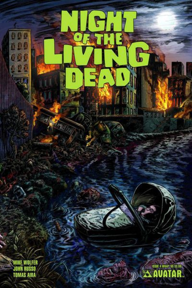 Night of the Living Dead #4 (Wrap Cover)