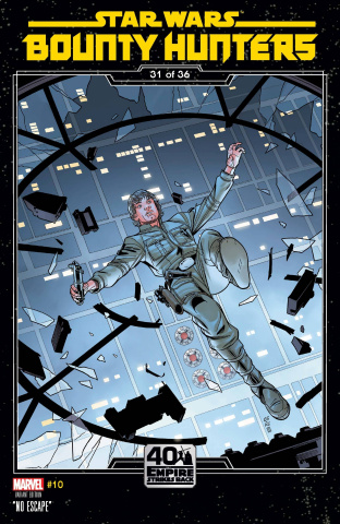 Star Wars: Bounty Hunters #10 (Sprouse Empire Strikes Back Cover)