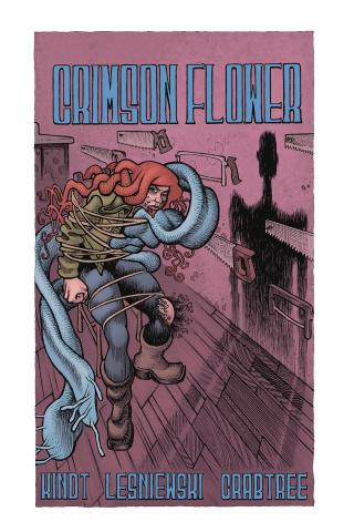 Crimson Flower #3 (Lesniewski Cover)