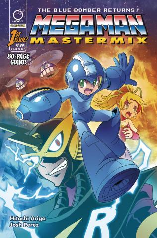 Mega Man: Mastermix #1 (Ariga Cover)