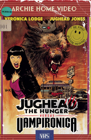 Jughead: The Hunger vs. Vampironica #1 (Hack Cover)