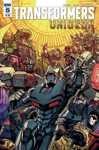 The Transformers: Unicron #5 (Raiz Cover)