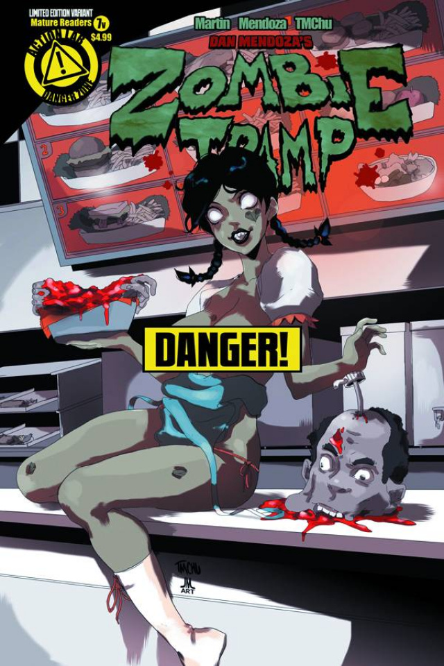 Zombie Tramp #7 (Risque Cover)