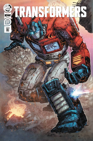 The Transformers #37 (10 Copy Williams II Cover)