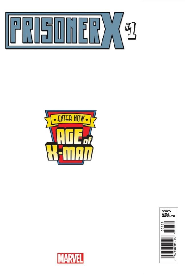 Age of X-Man: Prisoner X #1 (Pacheco Secret Cover)
