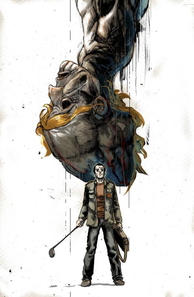 Strangeways #1 (Rossmo Cover)