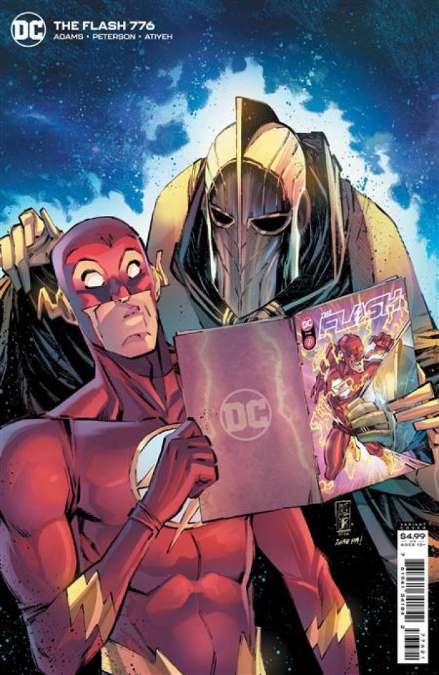 The Flash #776 (Jorge Corona & Ivan Plascencia Card Stock Cover)