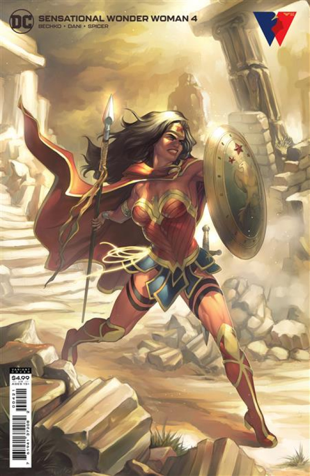 Sensational Wonder Woman #4 (Meghan Hetrick Card Stock Cover)