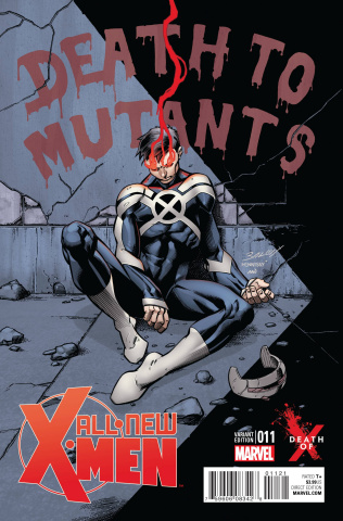 All-New X-Men #11 (Bagley Death of X Cover)