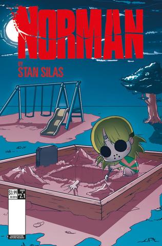 Norman: The First Slash #1 (Saohin Cover)