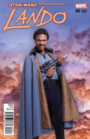 Star Wars: Lando #1 (Movie Cover)