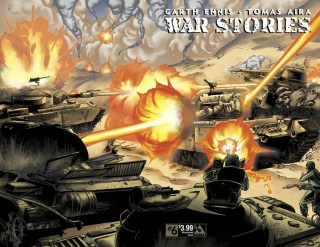 War Stories #6 (Wrap Cover)