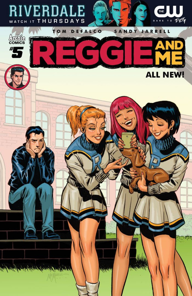 Reggie and Me #5 (McManus Cover)