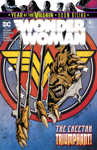 Wonder Woman #81 (Year of the Villain)