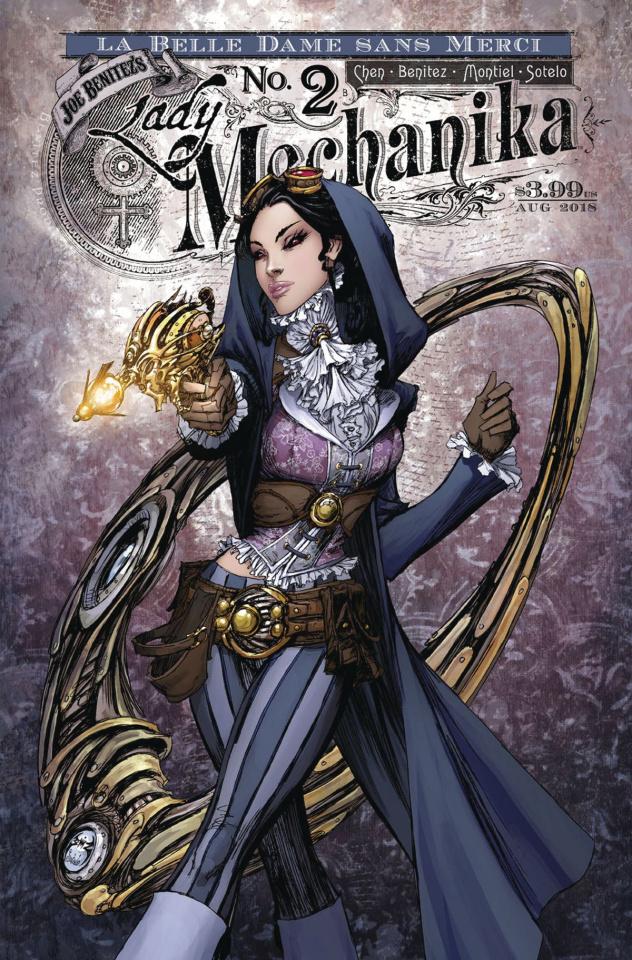 Lady Mechanika: La Belle Dame Sans Merci #2