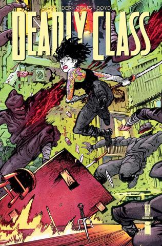 Deadly Class #37 (Johnson Cover)