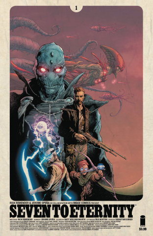 Seven to Eternity #1 (Opena & Hollingsworth Cover)