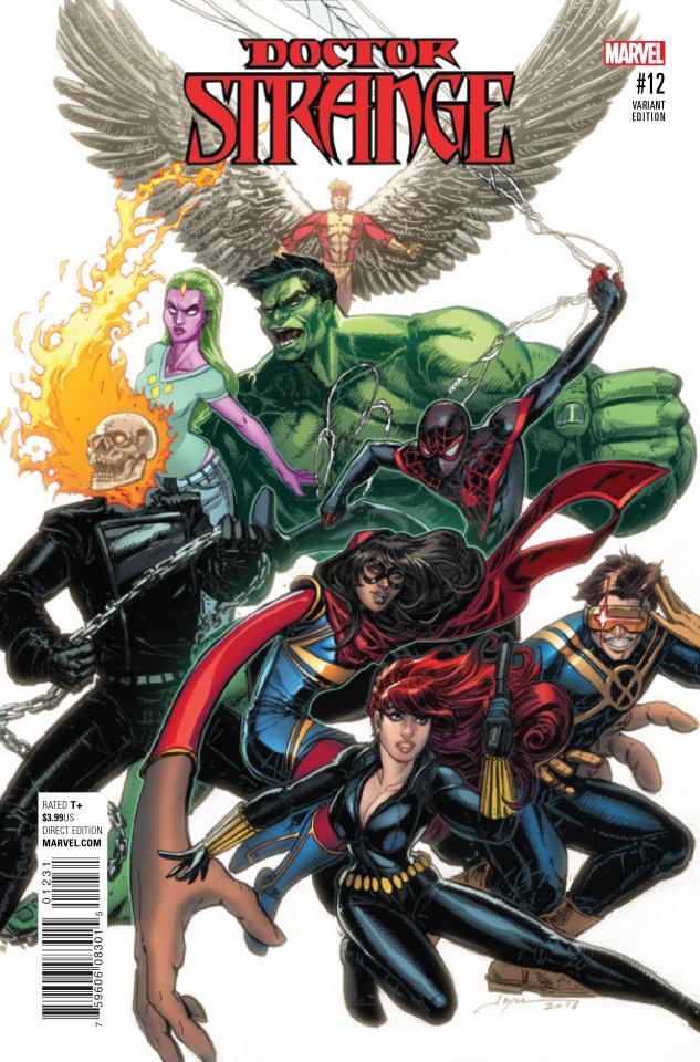 Doctor Strange #12 (Chin Champions Cover)