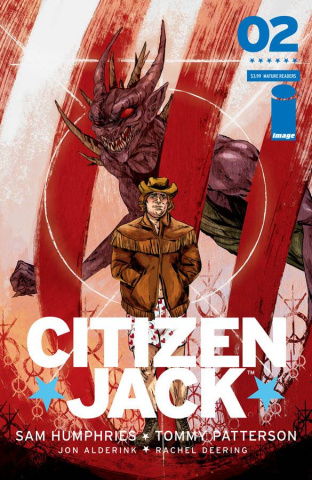 Citizen Jack #2 (Doyle Cover)