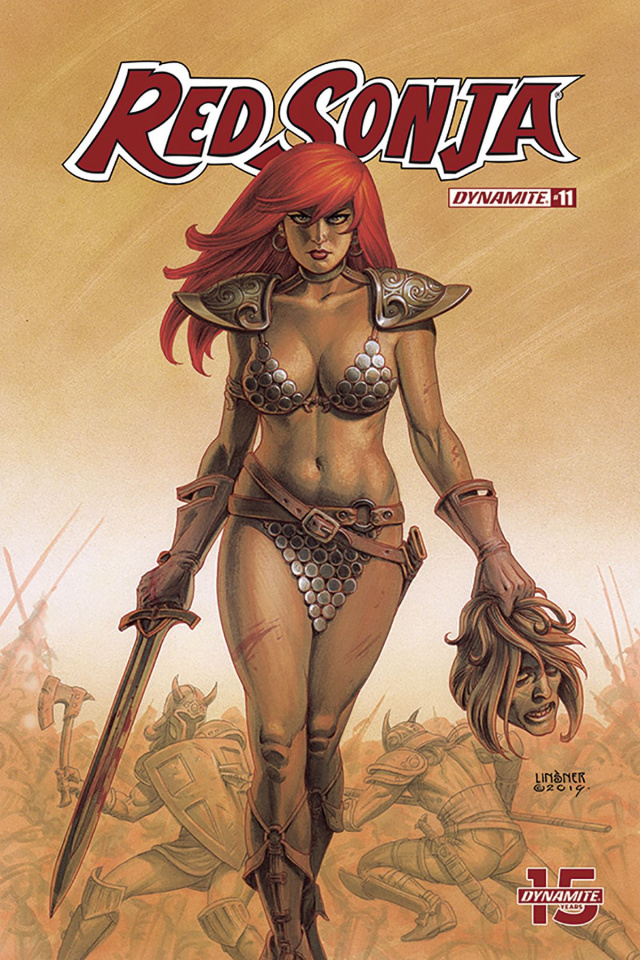 Red Sonja #11 (Linsner Cover)