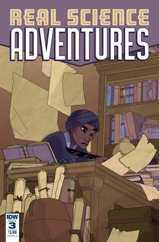 Real Science Adventures: Nicodemus Job #3 (McClaren Cover)