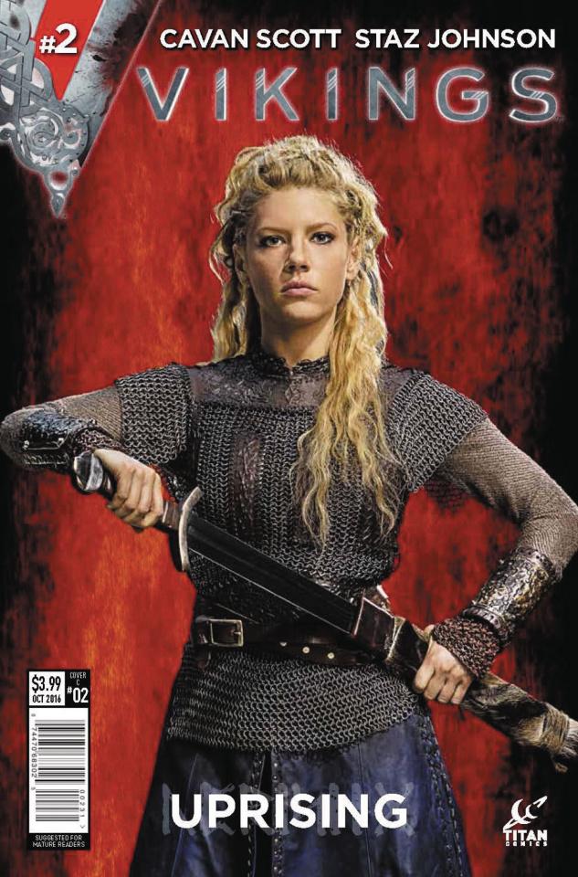 Vikings: Uprising #2 (Photo Cover)
