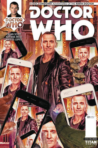 Doctor Who: New Adventures with the Ninth Doctor #1 (Photo Cover)