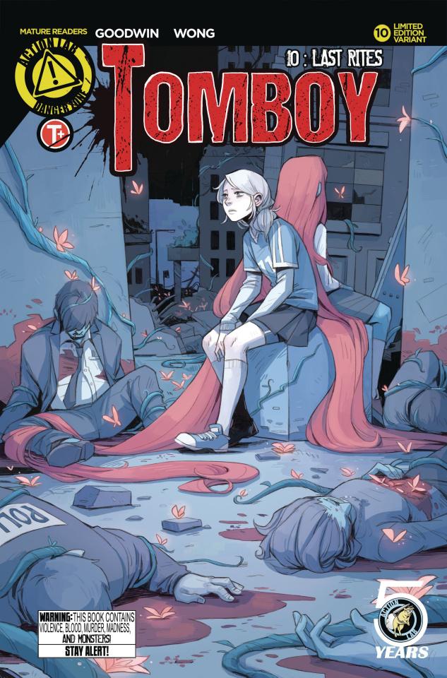 Tomboy #10 (Wong Cover)