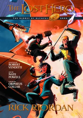 The Heroes of Olympus Vol. 1: The Lost Hero