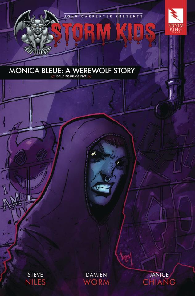 Storm Kids: Monica Bleue - A Werewolf Story #4
