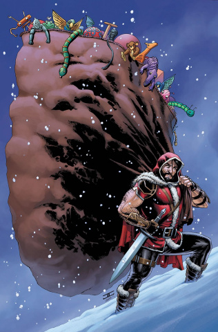 Klaus and the Crisis in Xmasville #1 (15 Copy Cassaday Cover)