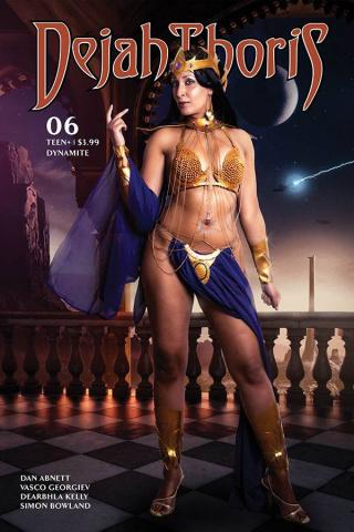 Dejah Thoris #6 (Tasha Cosplay Cover)