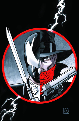 Grendel vs. The Shadow #3 (Wagner Cover)
