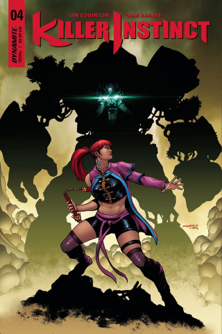 Killer Instinct #4 (Cinar Cover)