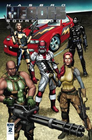 Hasbro Heroes Sourcebook #2 (10 Copy Cover)