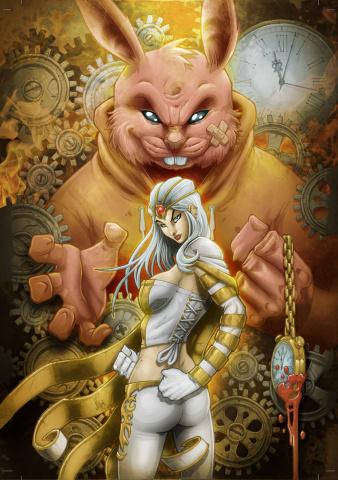 Grimm Fairy Tales: Wonderland #36 (El Tabanas Cover)
