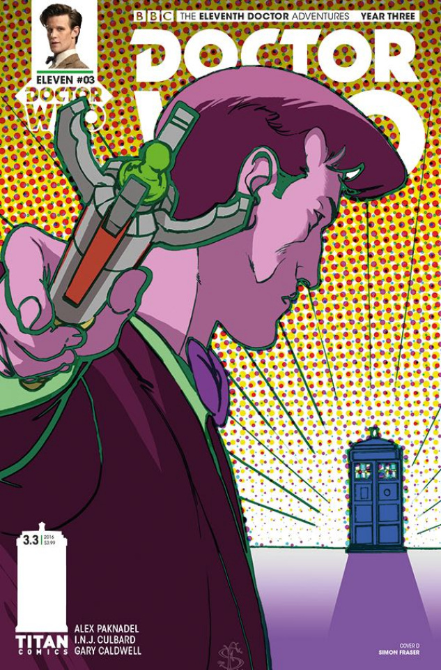 Doctor Who: New Adventures with the Eleventh Doctor, Year Three #3 (Fraser Cover)