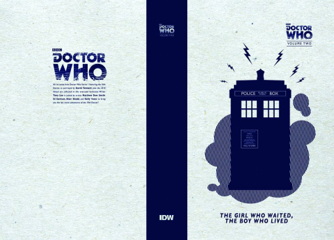 Doctor Who Vol. 2: The Girl Who Waited, The Boy Who Lived