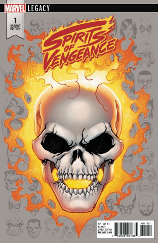 Spirits of Vengeance #1 (McKone Legacy Headshot Cover)
