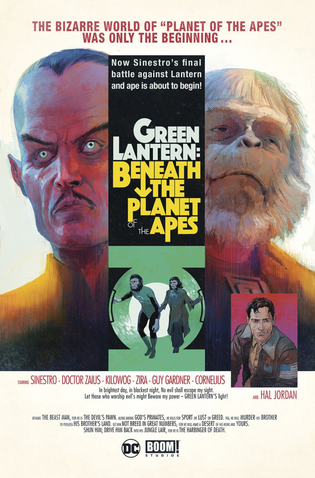 The Planet of the Apes / The Green Lantern #2 (20 Copy Sammelin Cover)