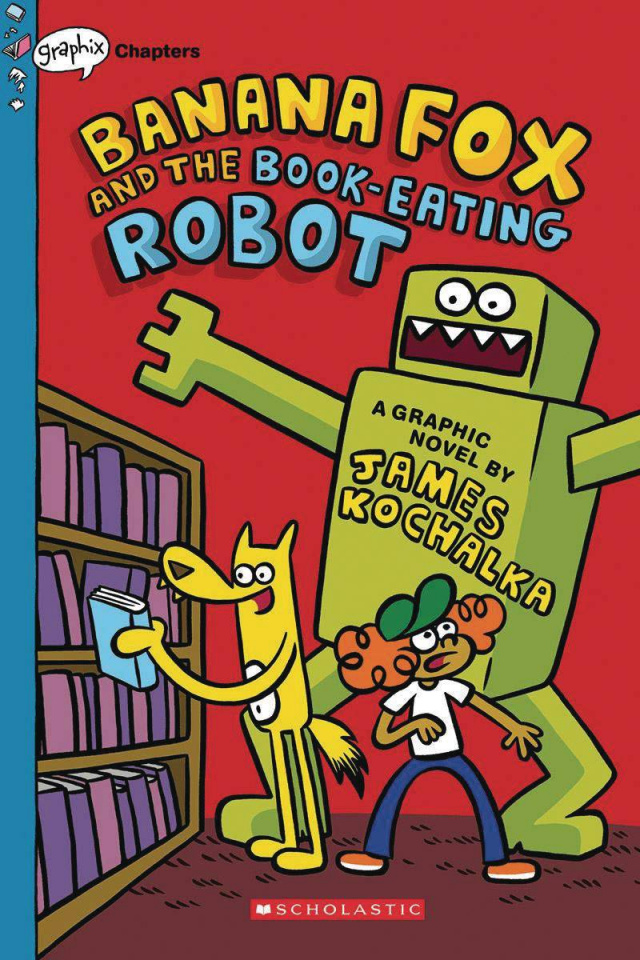 Banana Fox Vol. 2: The Book-Eating Robot