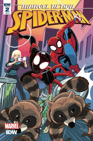 Marvel Action: Spider-Man #2 (10 Copy Charm Cover)
