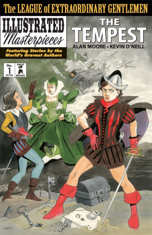 The League of Extraordinary Gentlemen: The Tempest #1 (2nd Printing)