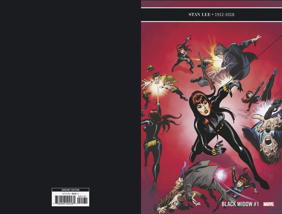 Black Widow #1 (Buscema Remastered Cover)