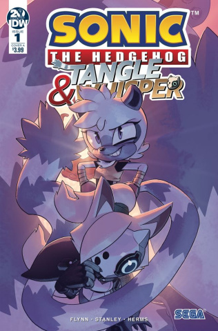Sonic the Hedgehog: Tangle & Whisper #1 (Stanley Cover)