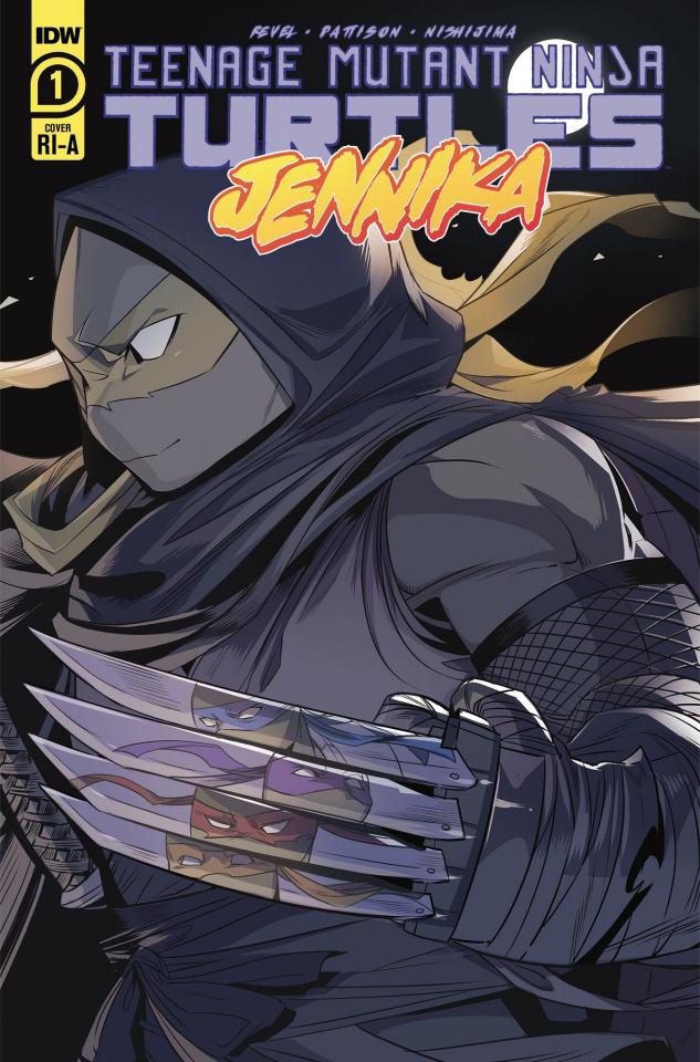 Teenage Mutant Ninja Turtles: Jennika #1 (10 Copy Nishijima Cover)